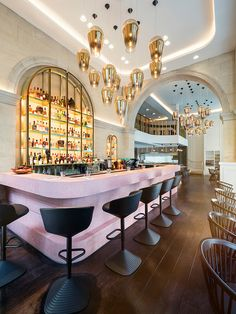 Том Диксон (Tom Dixon): новый ресторан Bronte в Лондоне • Интерьер+Дизайн