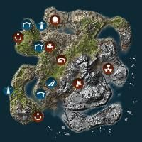 Map Gallery - Rust:IO Rust Procedural Map   Games And joy in