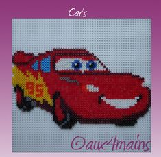 Cars  hama perler by aux4mains