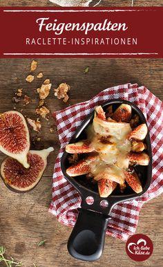 Herzhaft und süß - eine tolle Idee für ein Raclette Pfännchen.