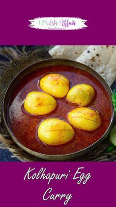 Egg Recipes Indian, Indian Dessert Recipes, Healthy Indian Recipes, Spicy Recipes, Curry Recipes, Cooking Recipes, Chaat Recipe, Biryani Recipe, Egg Curry