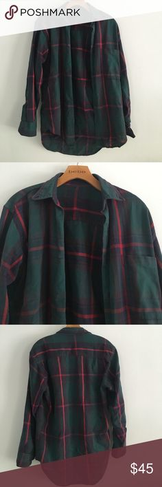 Brandy Melville Flannel Good condition and super comfy only worn a few times Brandy Melville Tops