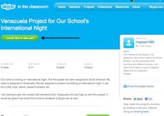 skype in the classroom--connecting students