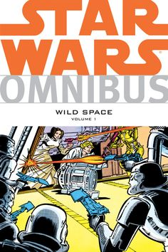 Omnibus: Wild Space Volume 1 is an Star Wars Omnibus-series trade paperback collecting various issues of the Marvel UK Star Wars comics, along with other obscure comic stories released over the years. It was released on May 29, 2013. This wild omnibus features rare and previously uncollected stories from UK publications, toy pack-ins, cereal boxes, Star Wars Kids magazine, and even issues that were originally published in 3-D! A treasure trove of unexpected gems for the casual Star Wars…