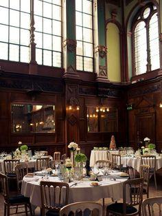 Library Wedding Reception | A European Country Wedding