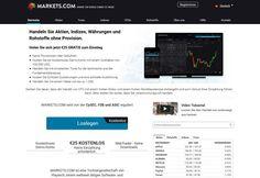 Auch der Broker Markets bietet 25,-€ Startkapital für den Forex Handel an, ohne das Sie Geld einzahlen müssen... #brokermarkets #forexhandel #startkapital