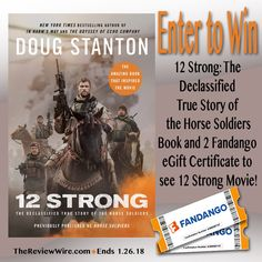 12 Strong Movie: Twelve brave U.S. soldiers droppedeverything and ventured into an unknown land, outnumbered 5,000 to 1 to complete one of the most successful special forces missions of all time.