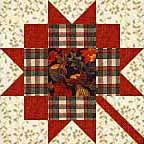Maple Leaf Quilt Block free pattern on McCall's Quilting at http://www.mccallsquilting.com/patterns/details.html?idx=8236