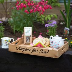 Personalised Wooden Tray | GettingPersonal.co.uk