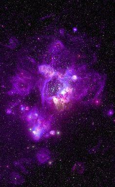 A galaxy nebula.