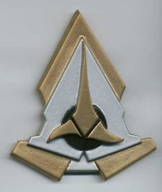 Star Trek Klingon Communicator Comm Badge Pin by Katarra8 on Etsy, $12.99