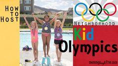 How to Host a Neighborhood Kid Olympics