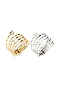 Multistring ring