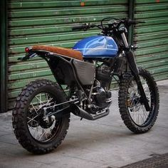Bendita Macchina McEnroe - Honda 250cc.
