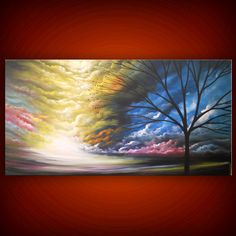 art painting original painting abstract landscape by mattsart