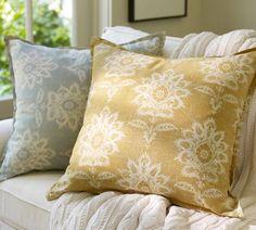 Margot Fleur Medallion Pillow Covers   Pottery Barn