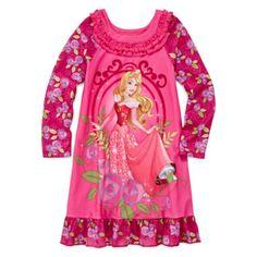 Disney Collection Aurora Nightgown - Girls 2-10  found at @JCPenney