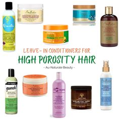 High Porosity Leave In Conditionerrd