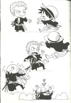 Zoro x Luffy #zolu #luzo #one piece