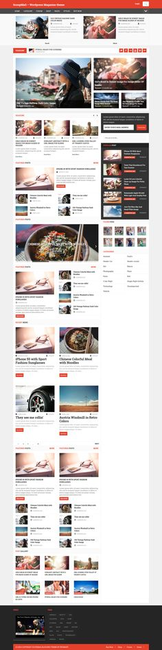 ScoupMag - Smart & Modern Magazine Theme #magazinetheme #wordpress Live Preview and Download: http://themeforest.net/item/scoupmag-smart-modern-magazine-theme/8106574?ref=ksioks