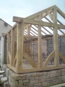 A selection of green oak timber framing and other structural joinery projects from the last 10 years work all over the South-West...most are...