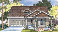 Bergstrom 30-206 - Narrow Lot Home Plan from Associated Designs