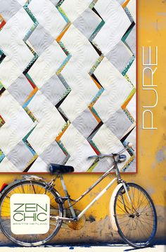Pure #zenchic modern #quiltpattern now available as an instant PDF-Download here https://zenchic.dpdcart.com/cart/add?product_id=72358&method_id=74933