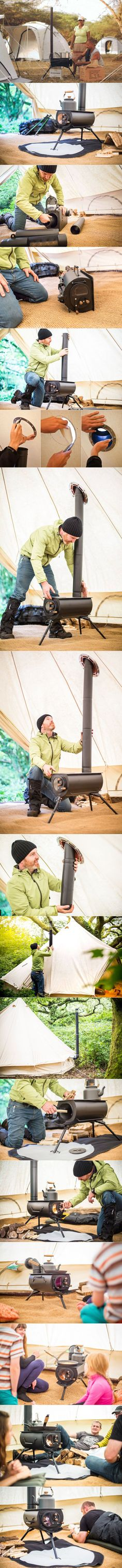 Frontier Plus ∙ A next-generation portable woodburning stove