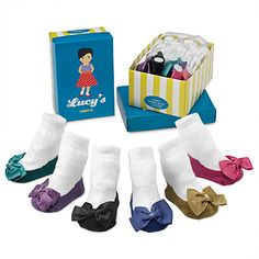 Lucy's Socks Set of 6 $26.00