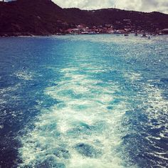 Taking the ferry back to St. Maarten in order to catch our flight back to NYC. Goodbye St. Barth!
