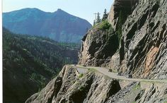Million Dollar highway-most terrifying & beautiful road we have been on between Ouray & Durango, colorado