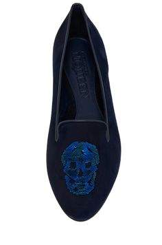 Alexander McQueen. Fashion. Shoes. Jewelry. Skulls. Flat Shoes.