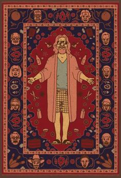 That rug really ties the room together, does it not?