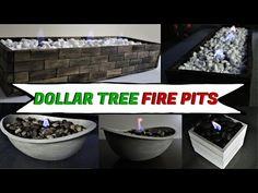 Make These Classy DIY Dollar Tree Store Home Decor Aiming for some elegant and posh living room or working space? Well, today you are lucky because here is a video that will teach you some easy do-it-yourself decoration that looks high-end. Dollar Tree Decor, Dollar Tree Crafts, Dollar Tree Store, Dollar Stores, Dollar Store Hacks, Tabletop Fire Bowl, Fire Table, Patio Table, Pergola Patio