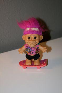 Skateboard Troll Doll by Russ on Etsy, $7.00