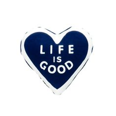 "Spead the Power of Optimism with this Life is Good® plush heart. It's just the right size for furry friend's arm!© 2016 The Life is Good Company. All Rights Reserved. ""Life is Good"" is a registered trademark. Best Friend Thoughts, Best Friends, How To Become Happy, Are You Happy, Dot Logo, Blue Quotes, Funny Picture Jokes, Funny Pictures, Blue Life"