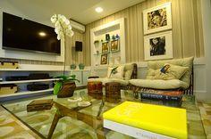 Casa contemporânea com decor natural por OMK arquitetura