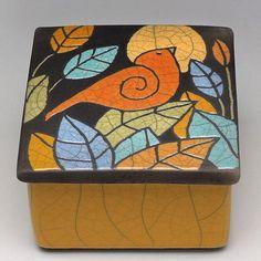 indianaartist #art #fortwayne #artist #davisvachon #fortwayneartist #clay #raku #bird #ceramics