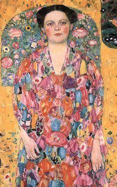 Gustav Klimt: Portrait Of Eugenia Primavesi - deflam, via Flickr