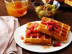 Brown Butter Waffles Recipe | Food Network Kitchen | Food Network