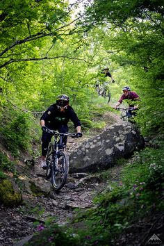GT Bicycles and Dakine rider Kirill Bocharov riding in Crimea with his crew