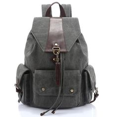 b7e83f0f2760 Travel Backpacks Zipper Solid Men s Bags Brand School Bags for Teenagers.  Back BagVintage BackpacksCasual ...