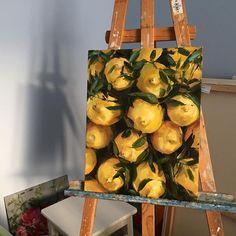 Art - Mix Series, Malerei, Aquarell - Art - Painting Tips Painting Inspiration, Art Inspo, Art Sketches, Art Drawings, Lemon Painting, Mellow Yellow, Aesthetic Art, Art Sketchbook, Gouache