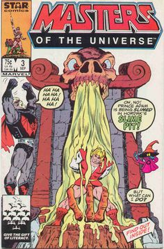 The Book Review: MASTERS OF THE UNIVERSE #3 (Star, 1986)