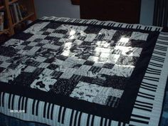 Piano Key Quilt