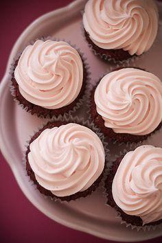Rotwein-Schokoladen-Cupcake | Cupcakes-Rezept.de