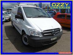2011 Mercedes-Benz Vito MY11 116CDI SWB White Automatic 5sp Automatic Van #mercedesbenz #vito #forsale #australia
