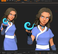 Cell-Shaded Rendering with Zbrush by Dan Eder DAN EDER is a Character Artist from Tel Aviv, Israe 3d Character Animation, Zbrush Character, Character Modeling, 3d Modeling, 3d Animation, Game Character Design, Character Design References, Character Art, Character Reference