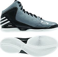 ADIDAS DERRICK ROSE 773 BASKETBALL SHOES (G56262) NEW GREY BLACK WHITE  Basketball 08731158d
