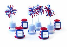 #4th of July Place Cards